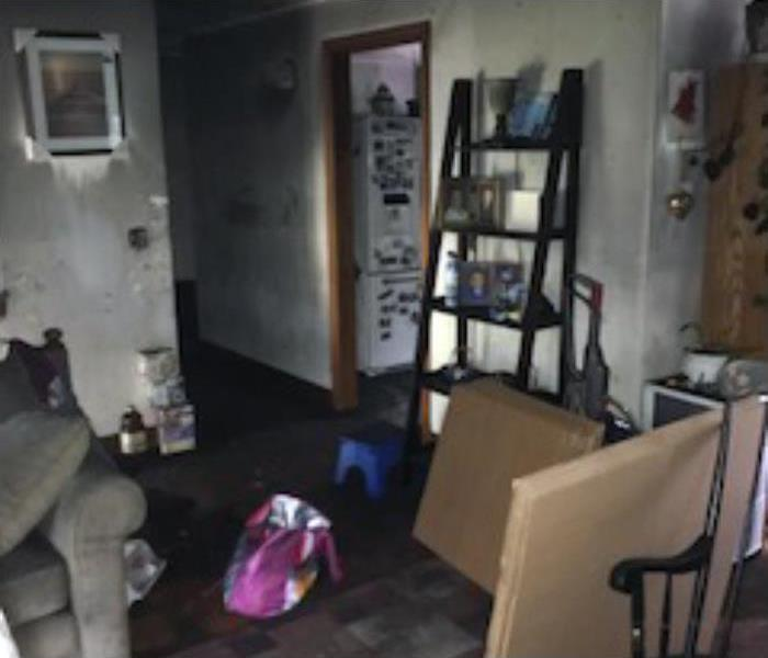 Treadmill Fire Damages Entire Home Before