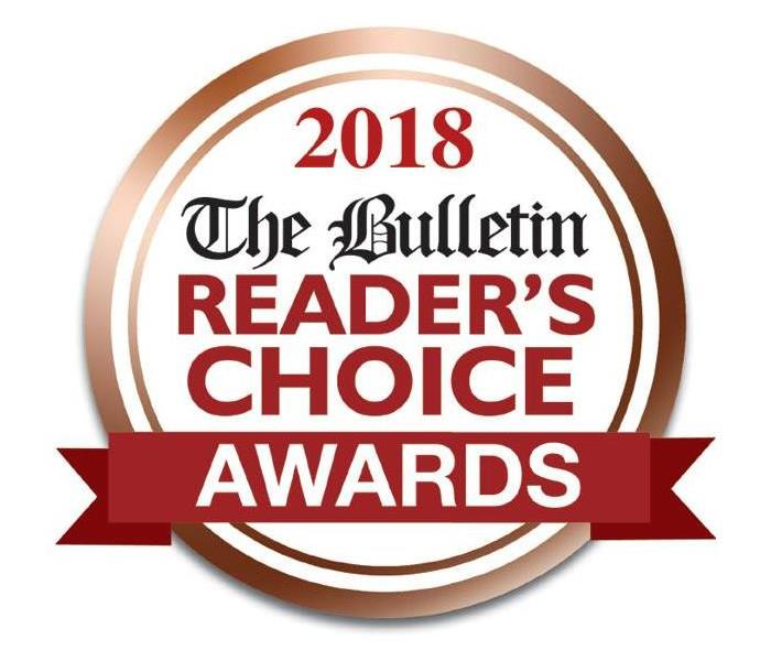 Community SERVPRO of Norwich & Windham County Wins Norwich Bulletin Reader's Choice Award